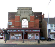 Scunthorpe, The Majestic Cinema, Lincolnshire © David Wright